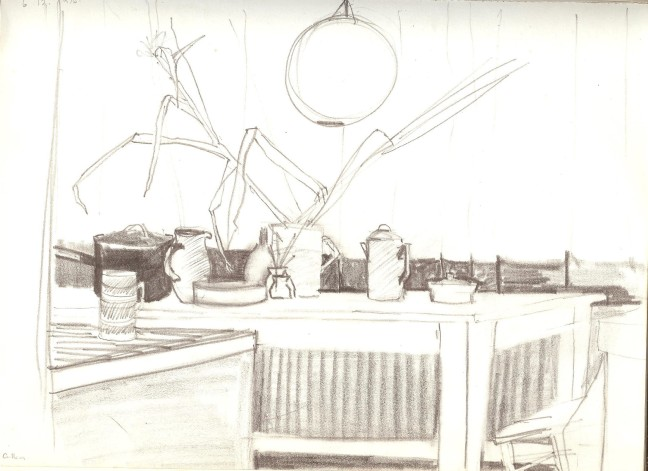 Kitchen table sketch 1976.jpeg